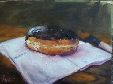 donut on napkin 1