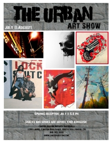 the urban art show