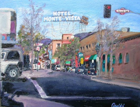 Route 66 Flagstaff 8x10